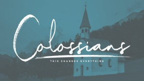 colossians blue church big c